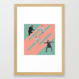 BARTITSU Framed Art Print