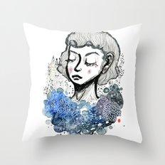 Girl's Dream Throw Pillow