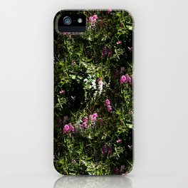 In the mountains where the Sweet Peas grow... iPhone Case