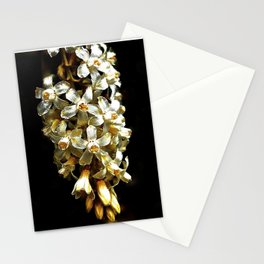 Flowering Currant, White Icicle Stationery Cards