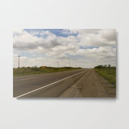 Empty Highway Metal Print