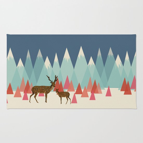Climb Every Mountain Rug By Prelude Posters