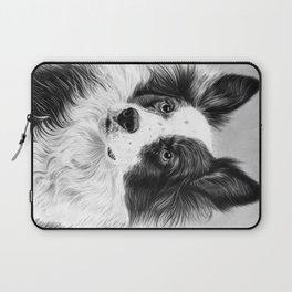 Dog Portrait 02 Laptop Sleeve