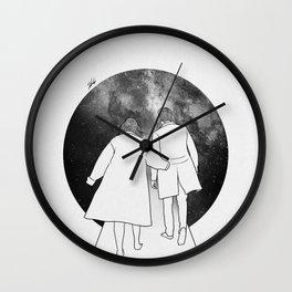 Our walk'n way. Wall Clock