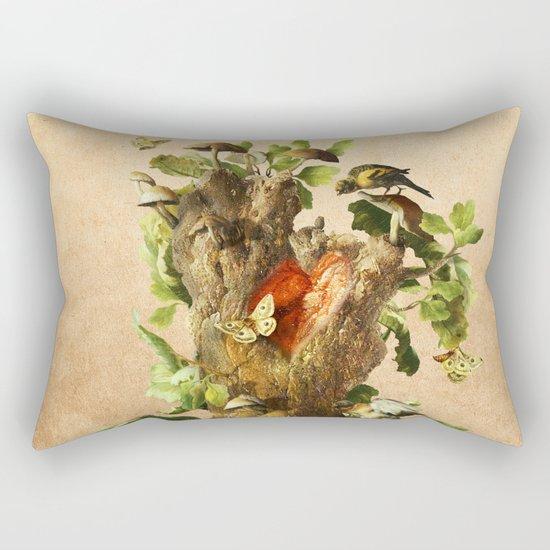 Transient Rectangular Pillow