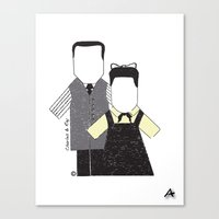 eames Canvas Prints featuring Eames by Analy Diego