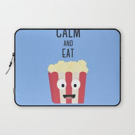 Eat Popocorn Laptop Sleeve