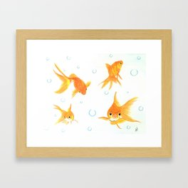 Goldfish! Framed Art Print