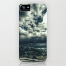 Thunder is coming iPhone Case