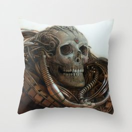 The Timetraveller II Throw Pillow