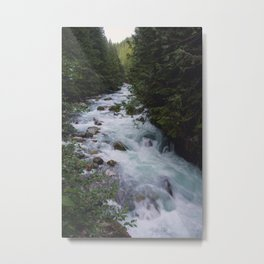 Nooksack River - Pacific Northwest Metal Print