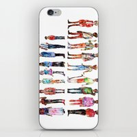 les miserables iPhone & iPod Skins featuring Les miserables by Puckboum