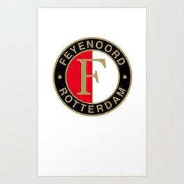 Feyenoord Rotterdam Art Print