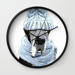 Great Dane Winter is Here Wall Clock