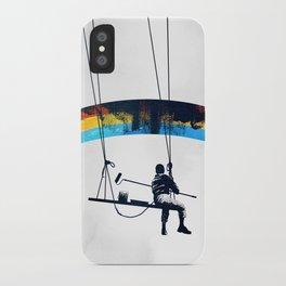 Paint it Black iPhone Case