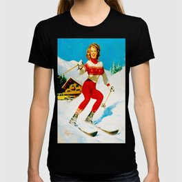 PIN UP GIRL by Gil Elvgren T-shirt