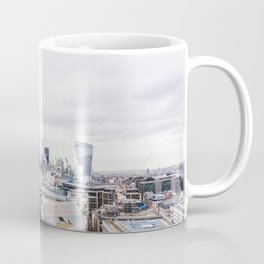 City View of the Financial District of London from St. Paul's Cathedral Coffee Mug