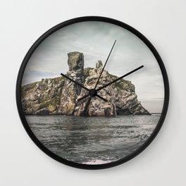 Irish rocks landscape Wall Clock