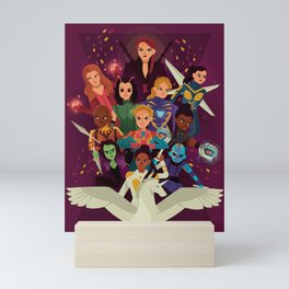 SHEroes Mini Art Print