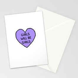 Girls Will Be Girls Stationery Cards
