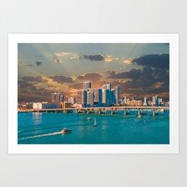 Biscayne Bay Art Print