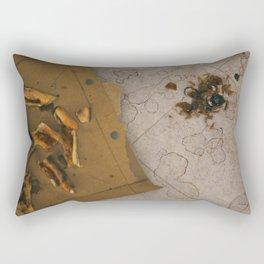 Day 0835 /// Trashy test Rectangular Pillow