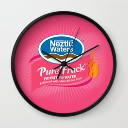 For Cancer Wall Clock