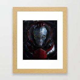 The Visitor  Framed Art Print