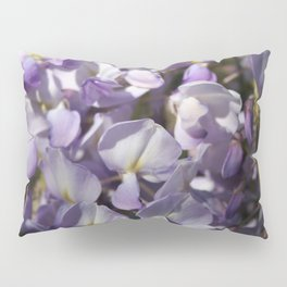 Close Up Of Lavender Wisteria Blossom Pillow Sham
