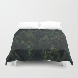 Forest of Pines Duvet Cover