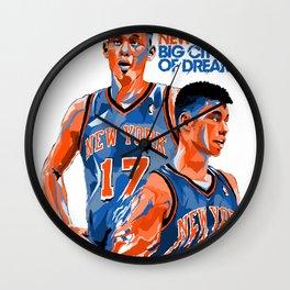 Jeremy Lin: New York, New York, Big City of Dreams. Wall Clock
