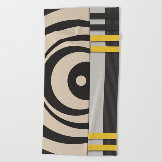 Abstract #189 Beach Towel