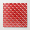 Large scallops in fabulous fiesta red by hereswendy