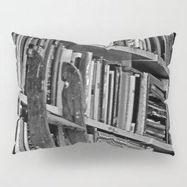 Book Shelves Pillow Sham