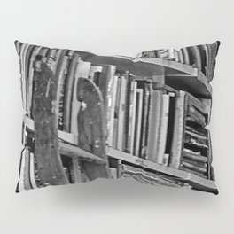 Book Shelves Pillow Sham