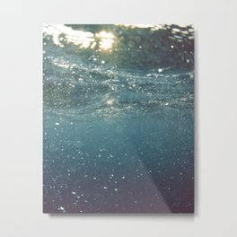 Lost beneath the surface Metal Print