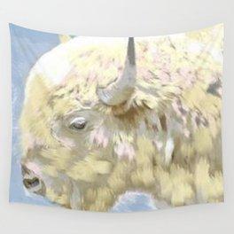 White buffalo calf Wall Tapestry