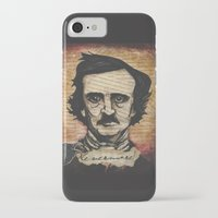poe iPhone & iPod Cases featuring Poe by Colunga-Art
