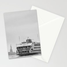 Liberty & Ferry in Black and White Stationery Cards