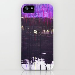 Mangled Thoughts and Dreams iPhone Case