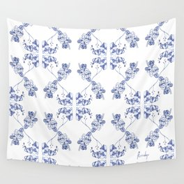 favourite flowers Wall Tapestry