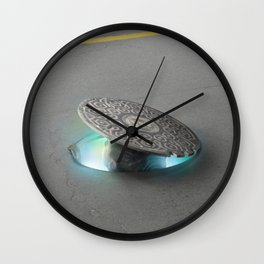 Prelude to first trip Wall Clock