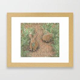 Rabbits 1 Framed Art Print