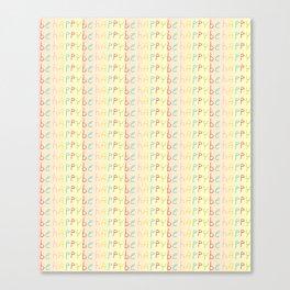 be happy-happy,joy,grin,sonrisa,fun,good,positive Canvas Print