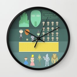 Wizard of Oz Wall Clock
