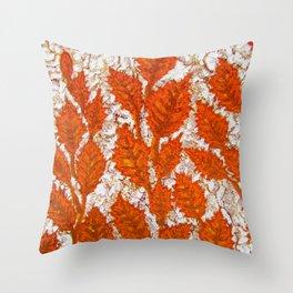 Happy autumn II Throw Pillow
