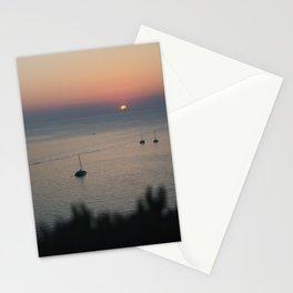 Santorini - Oia's Sunset V Stationery Cards