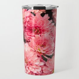 Autumn Kiss Chrysanthemums #1 #floral #art #Society6 Travel Mug