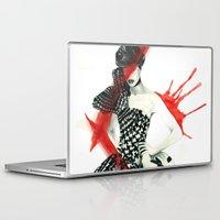 steve mcqueen Laptop & iPad Skins featuring Alexander McQueen by Simona Borstnar