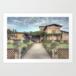 Roman Baths Art Print